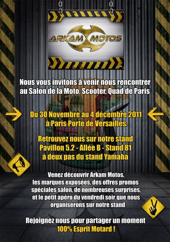 ARKAM MOTOS au Salon de la Moto de Paris 2011 ! Crbst_Newsletter_Mondial_1